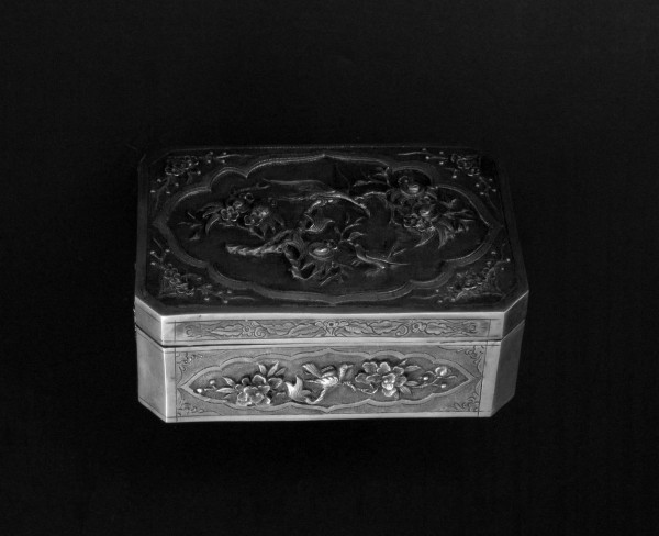 07-08-04 19th Century Chinese Silver Box