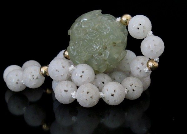 07-09-21 Chinese Mutton Fat Jade Necklace