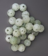 08-11-28 Chinese Hollow Carved Serpentine Beads