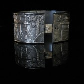 09-01-13 Chinese Repousse Bracelet
