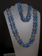 10-03-12  Chinese Carved Glass Knotted Beads